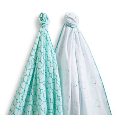 Turquoise Chickies Blankets