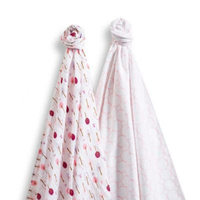 SwaddleDesigns® SwaddleDuo™ in Wild Pink (Set of 2)