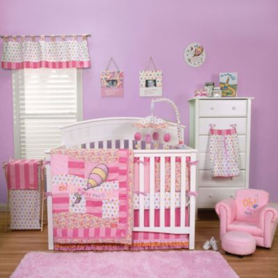 Trend Lab® Dr. Seuss™ Oh, the Places You'll Go! 3-Piece Crib Set in Pink