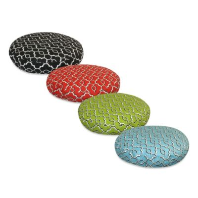 Pooch & Kitty Drammen Small Round Pet Bed in Firebird