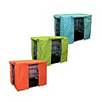 Pooch & Kitty Sonic Double Diamond Crate Cover