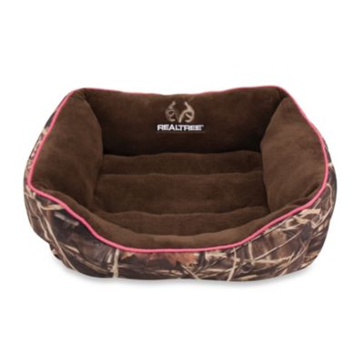 Realtree® Max4 Camo Medium Box Bed with Pink Piping