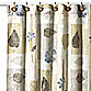 Spa Leaf Fabric Shower Curtain