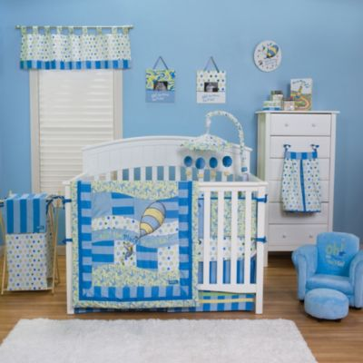 Trend Lab® Dr. Seuss™ Oh, the Places You'll Go! 3-Piece Crib Bedding Set in Blue