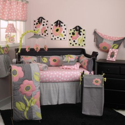 Cotton Tale Designs Poppy 3-Piece Crib Bedding Set