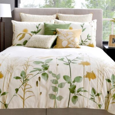 Meadow Twin Reversible Duvet Cover and Sham Set