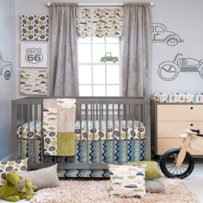 Glenna Jean Uptown Traffic 3-Piece Crib Bedding Set