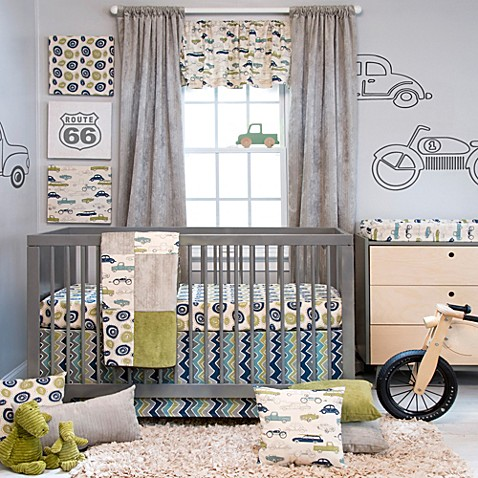 Buy Glenna Jean Uptown Traffic 3 Piece Crib Bedding Set