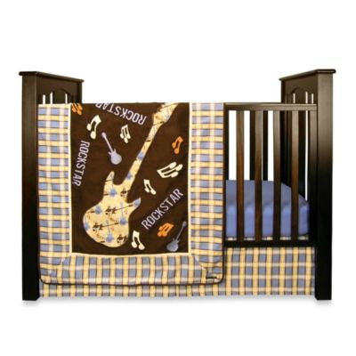 Rockstar 7-Piece Crib Bedding Set