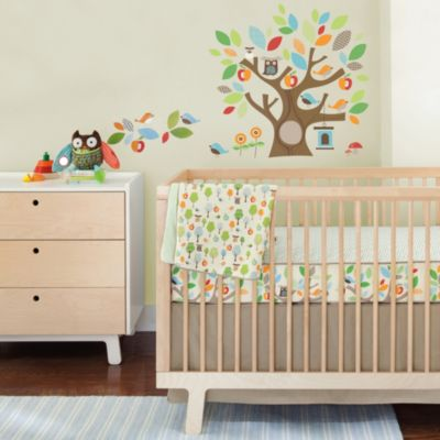 SKIP*HOP® Treetop Friends Crib Bedding Set With Decals