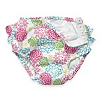 i play.® White Zinnia Ultimate Ruffle Swim Diaper