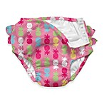 i play.® Ultimate Ruffle Swim Diaper in Pink Pineapple