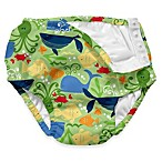 i play.® Lime Sealife Ultimate Ruffle Swim Diaper