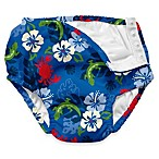 i play.® Ultimate Swim Diaper in Royal Hibiscus