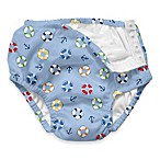 i play.® Light Blue Life Saver Ultimate Ruffle Swim Diaper
