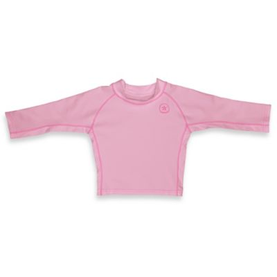 i play.® Long Sleeve Sleeve Size 6 Months Rashguard in Light Pink