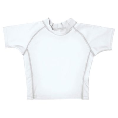 i play.® Size 3T Short Sleeve Rashguard in White