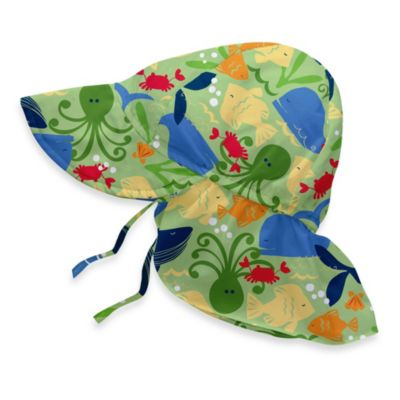 i play. ® Sea Life Flap Sun Hat