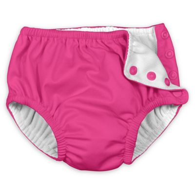 i play.® Ultimate Swim Size 18M Diaper in Hot Pink Solid