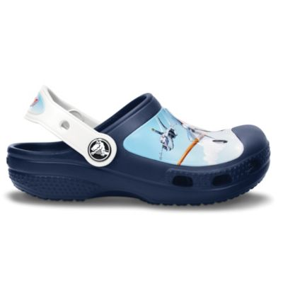 Creative Crocs Planes™ Kids Size 4-5 Clogs in Blue