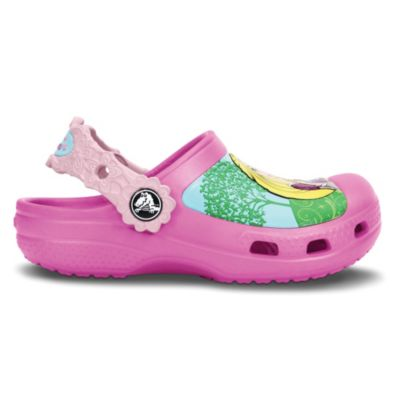 Creative Crocs Magical Day Princess Kids Size 4-5 Clogs in Pink