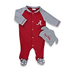 University of Alabama Mascot 1-Piece Footie w/Cap