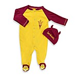 Arizona State Mascot 1-Piece Footie w/Cap