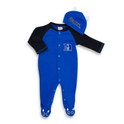 Duke University Mascot 1-Piece Footie w/Cap