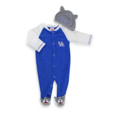 University of Kentucky Mascot 1-Piece Footie w/Cap