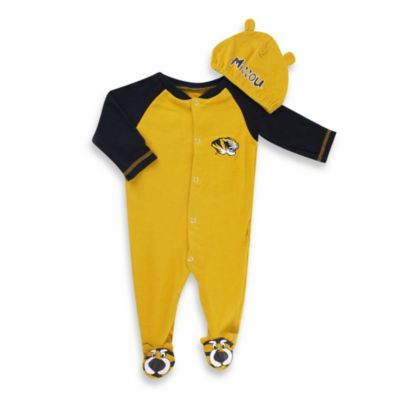 University of Missouri Mascot 1-Piece Footie w/Cap