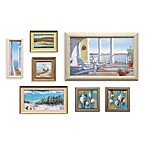 Seven-Piece Coastal Wall Art