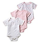 Little Tots Pink 3-Pack Bodysuits