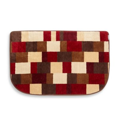 Softspun™ Memory Foam Kitchen Mat in Crimson