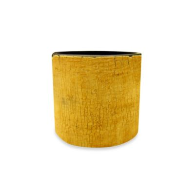 Natural Horn Wood Grain Napkin Ring