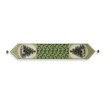 Holly Tree 72-Inch Table Runner