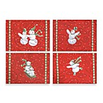 Frosty Friends Placemats (Set of 4)