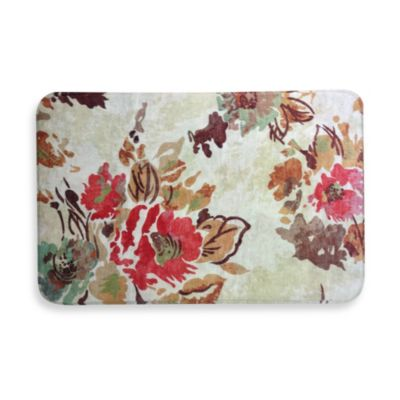 Calm Chef Anti-Fatigue Kitchen Mat in Water Lily