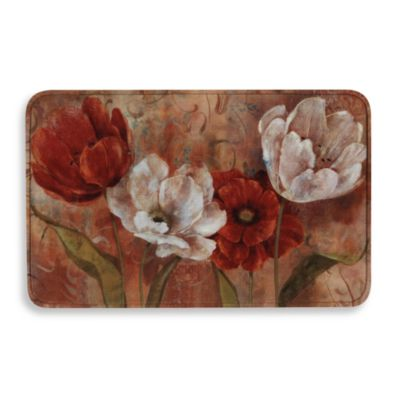 Calm Chef Tulips Multi Purpose Floor Mat