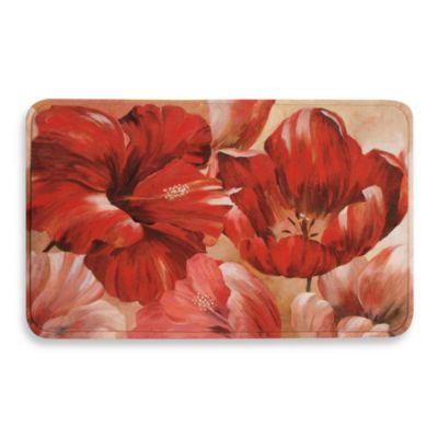 Calm Chef Anti-Fatigue Poppies Kitchen Mat