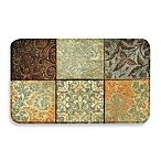 Calm Chef Anti-Fatigue Kitchen Mat in Green Mosaic