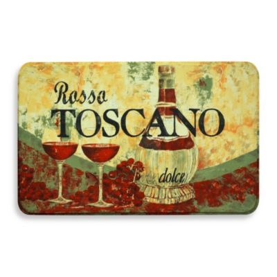 Calm Chef Anti-Fatigue Rosso Toscano 19.6-Inch x 31.5-Inch Kitchen Mat