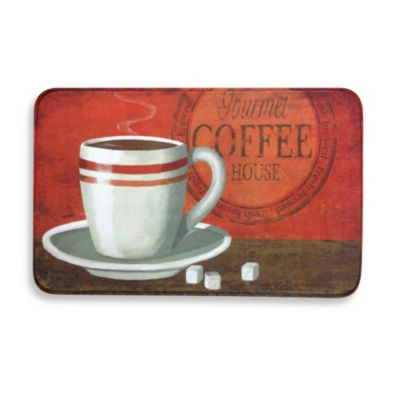 Calm Chef Anti-Fatigue Kitchen Mat in Gourmet Coffee