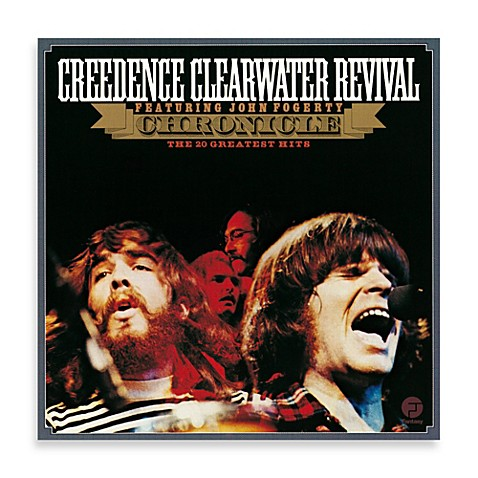 creedence clearwater revival chronicle vinyl album bed. Black Bedroom Furniture Sets. Home Design Ideas