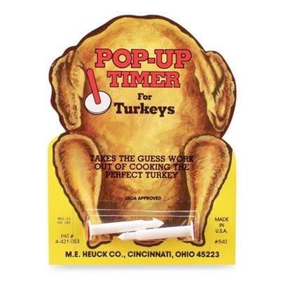 Turkey Pop-up Timer (Set of 2)