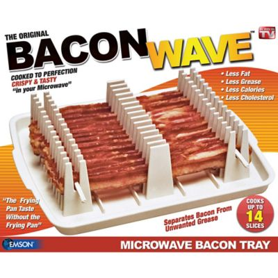 Emson Bacon Wave Microwave Bacon Cooker
