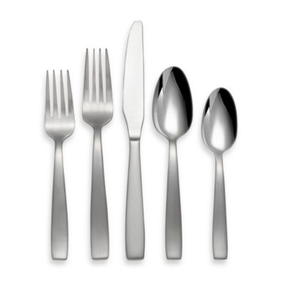 Oneida® Everdine 45-Piece Stainless Steel Silverware Set