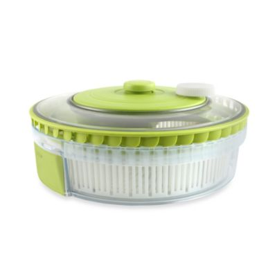 Dexas® Turbo Fan Expandable/Collapsible Salad Spinner
