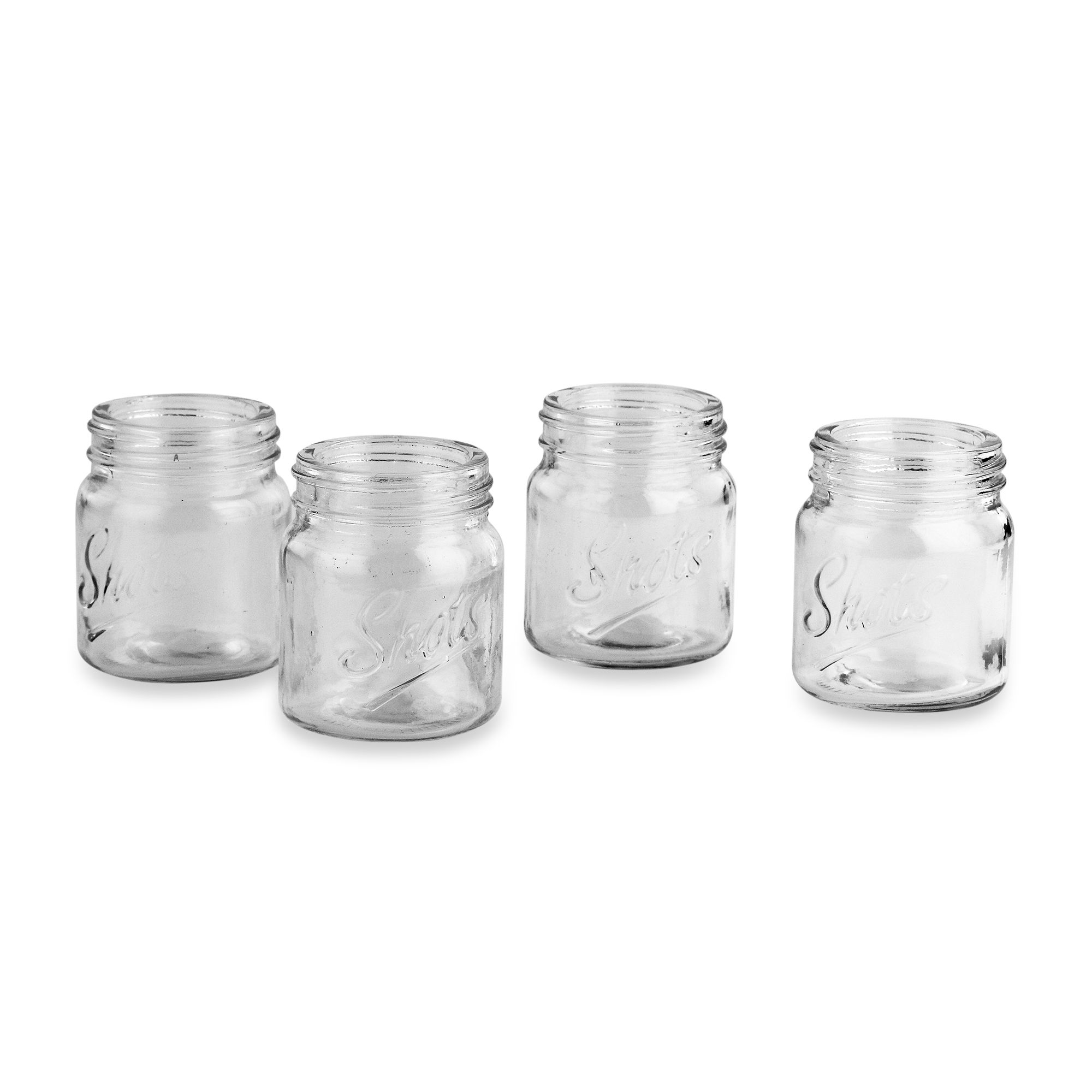 Mason Jar Large Mason Jar Shot Glasses Set of