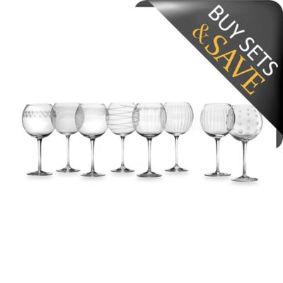 Mikasa® Cheers Balloon Goblet Glasses (Set of 8)