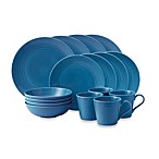Gordon Ramsay by Royal Doulton® Maze 16-Piece Dinnerware Set in Denim